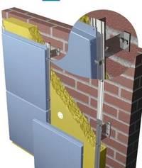 Конструкционные особенности навесных фасадов