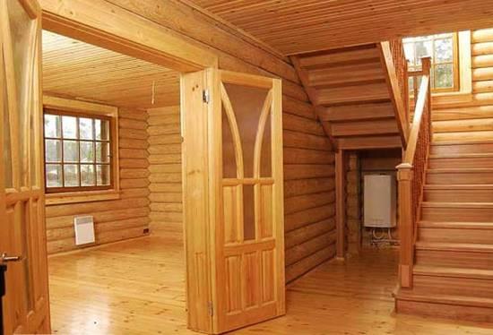 отделка деревянная