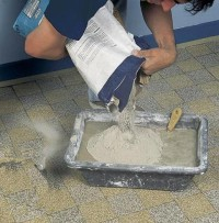 Жидкое тесто цемент