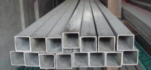 трубы металлические с квадратным профилем