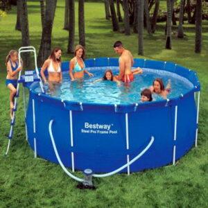 Преимущества использования каркасного бассейна