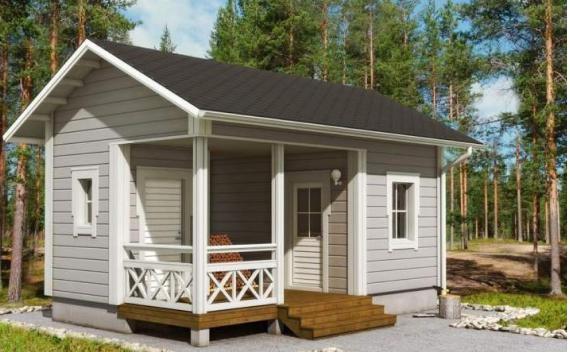 Проектирование маленьких каркасных домов