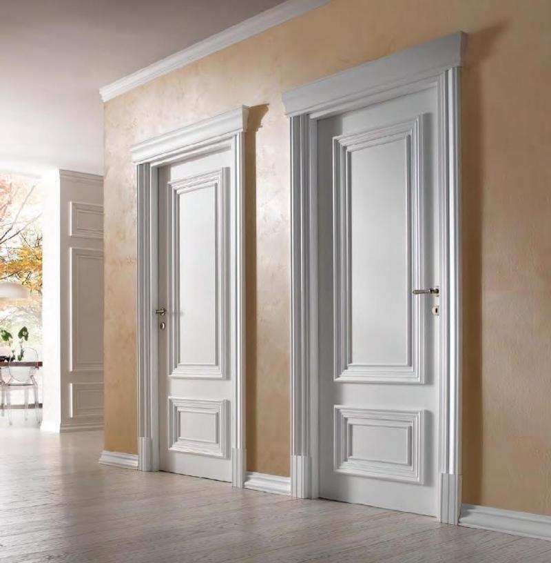 Межкомнатные двери покрытые эмалью