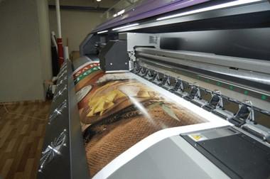Преимущества широкоформатной и интерьерной печати